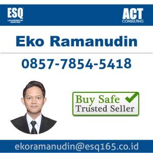 ESQ 165 Eko Ramanudin